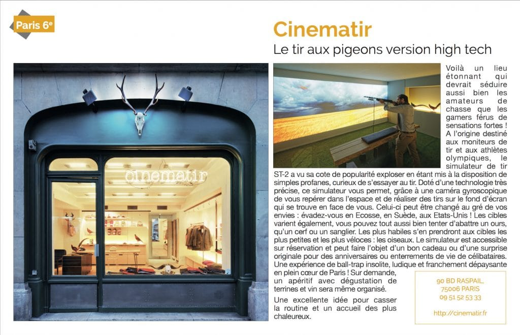 Presse Cinématir - Voici - 10 mars 2017