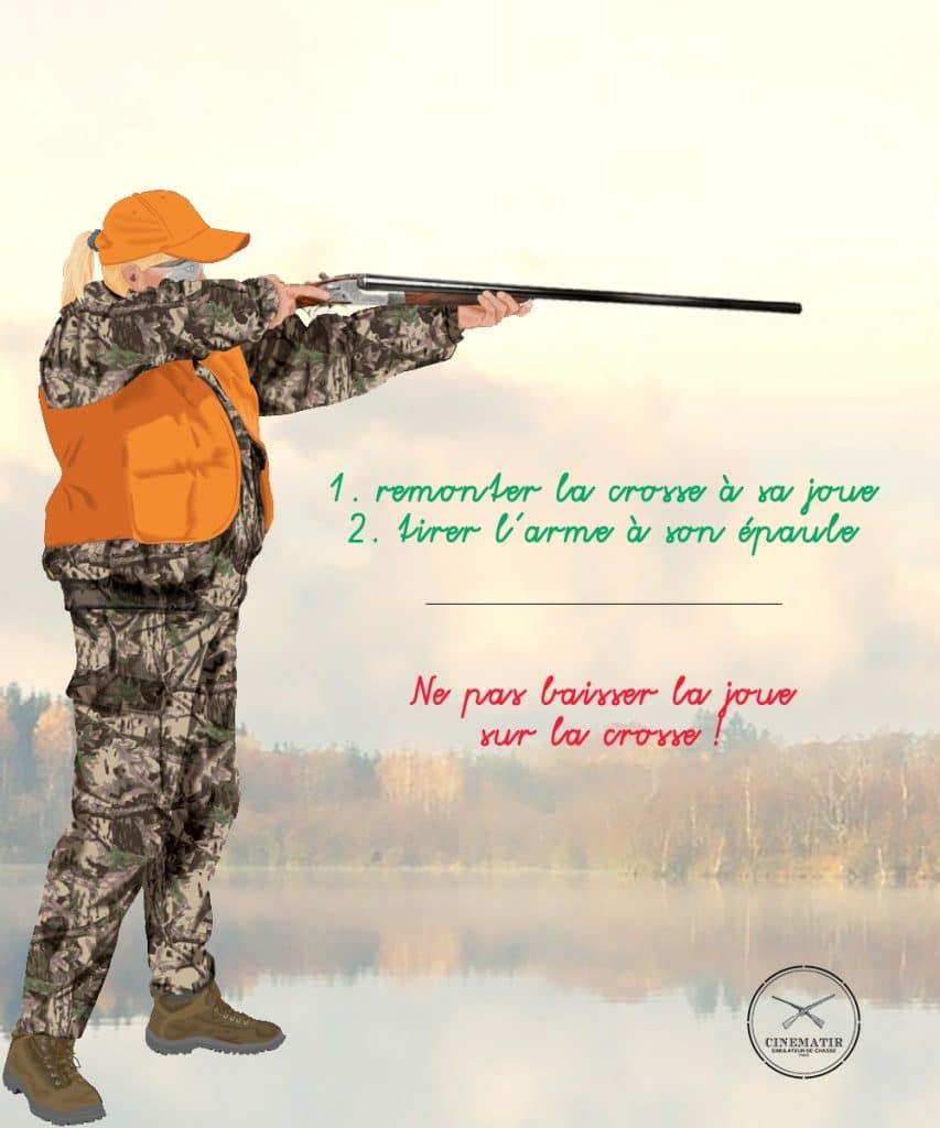 Comment bien épauler un fusil de chasse