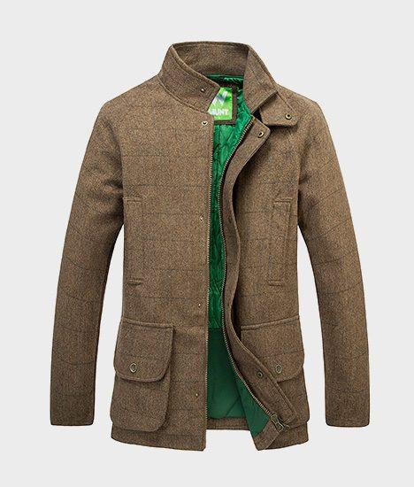 manteau en tweed w hunt homme cin matir simulateur de chasse. Black Bedroom Furniture Sets. Home Design Ideas